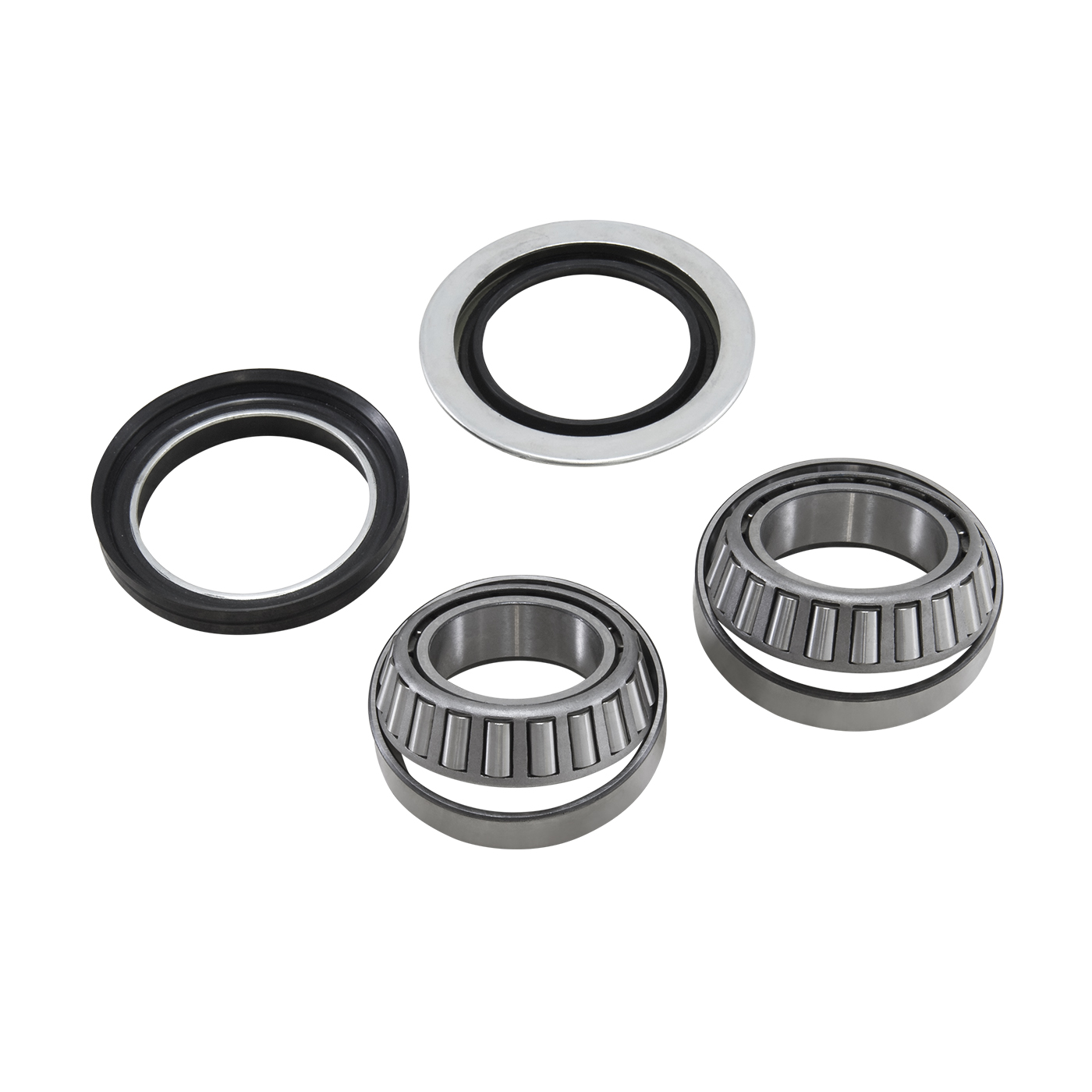 AK F-F03 - Yukon Front Axle Bearing and Seal Kit for Dana 44