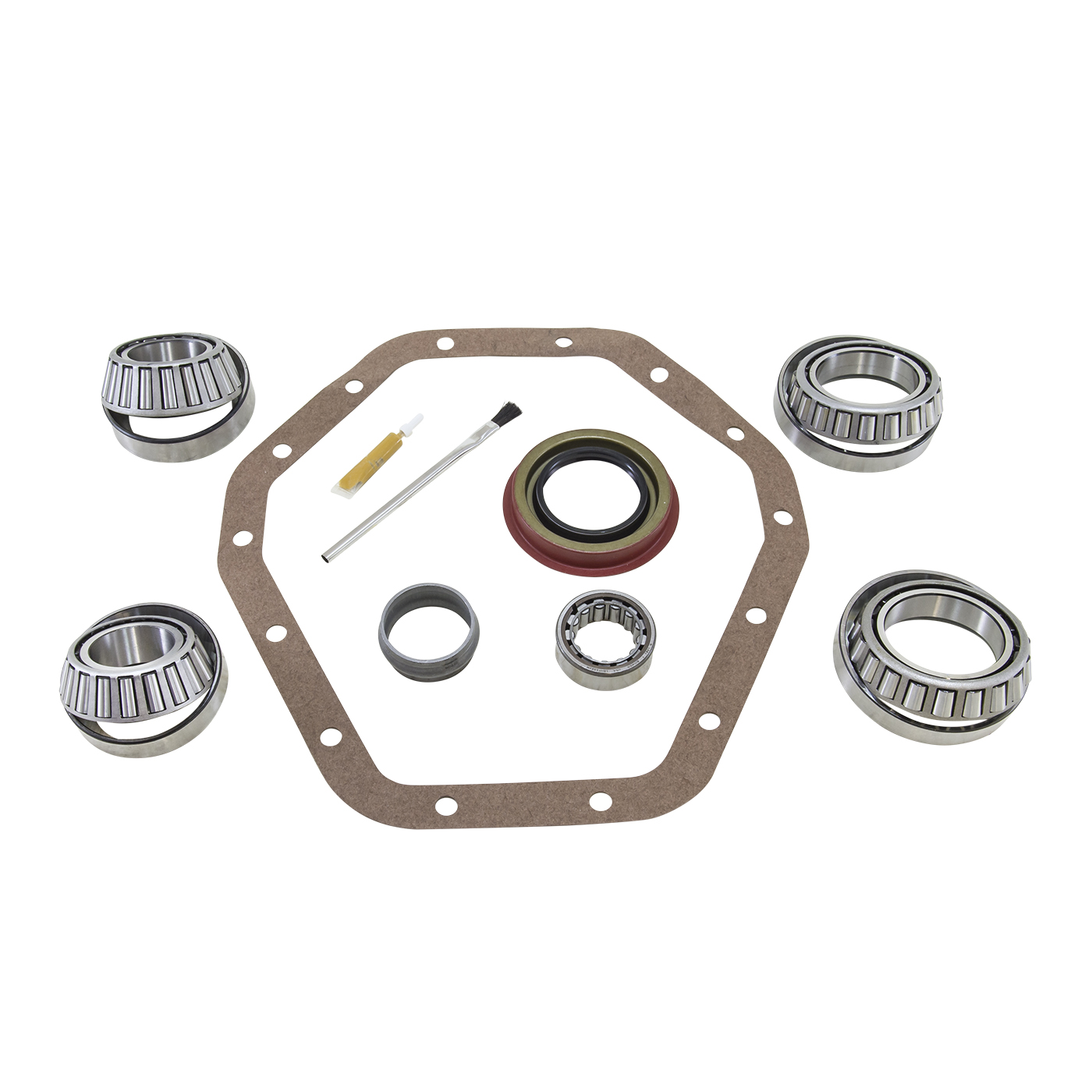 BK GM14T-A - Yukon Bearing install kit for '88 and older 10.5