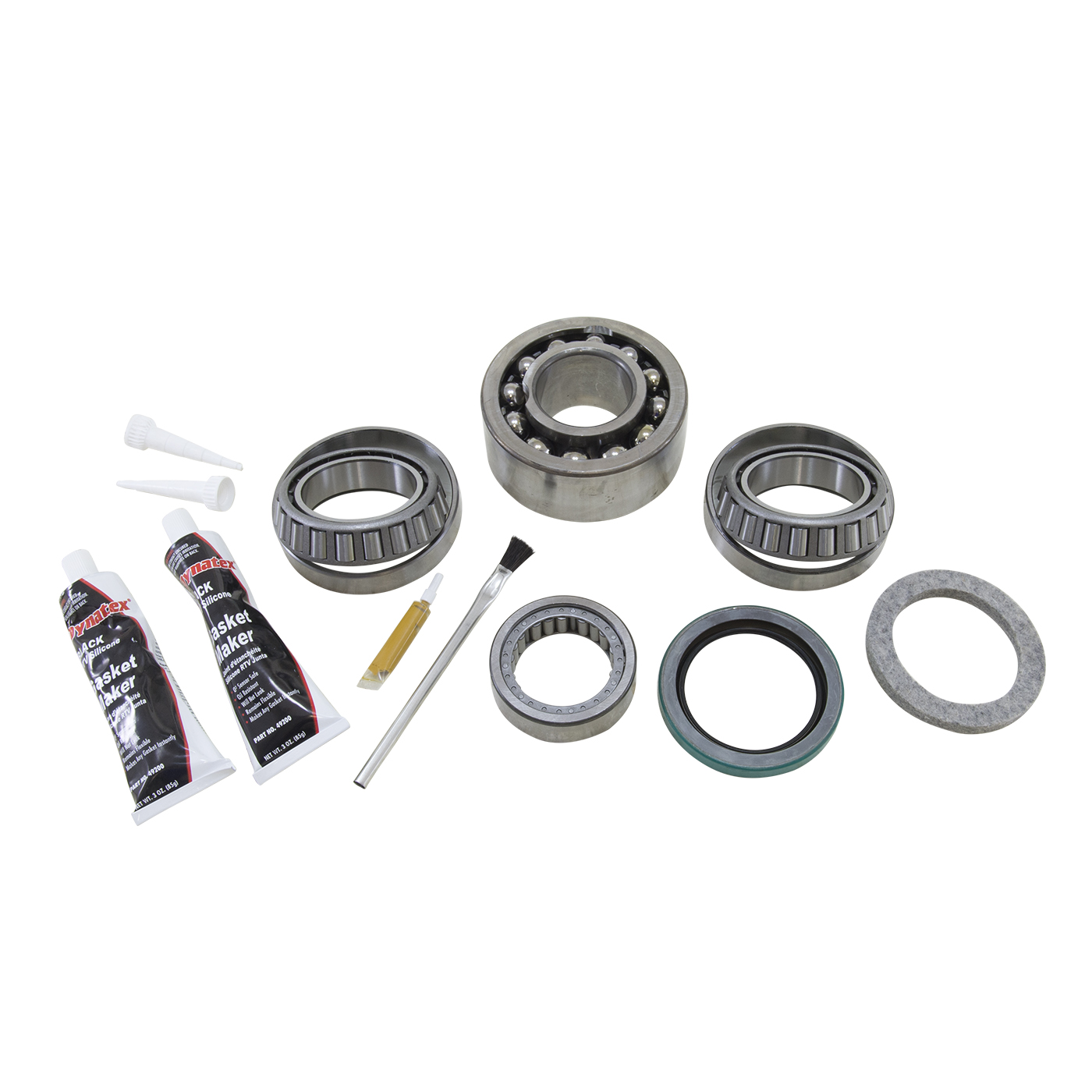 BK GMHO72-B - Yukon Bearing install kit for GM HO72 differential, with load bolt (tapered bearings)