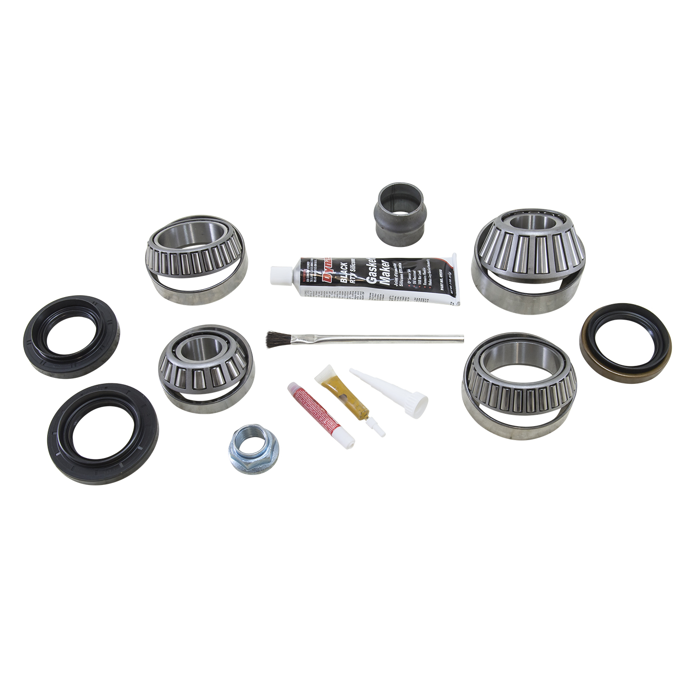 BK TLC-REV-B - Yukon Bearing install kit for new Toyota Clamshell design front reverse rotation differential