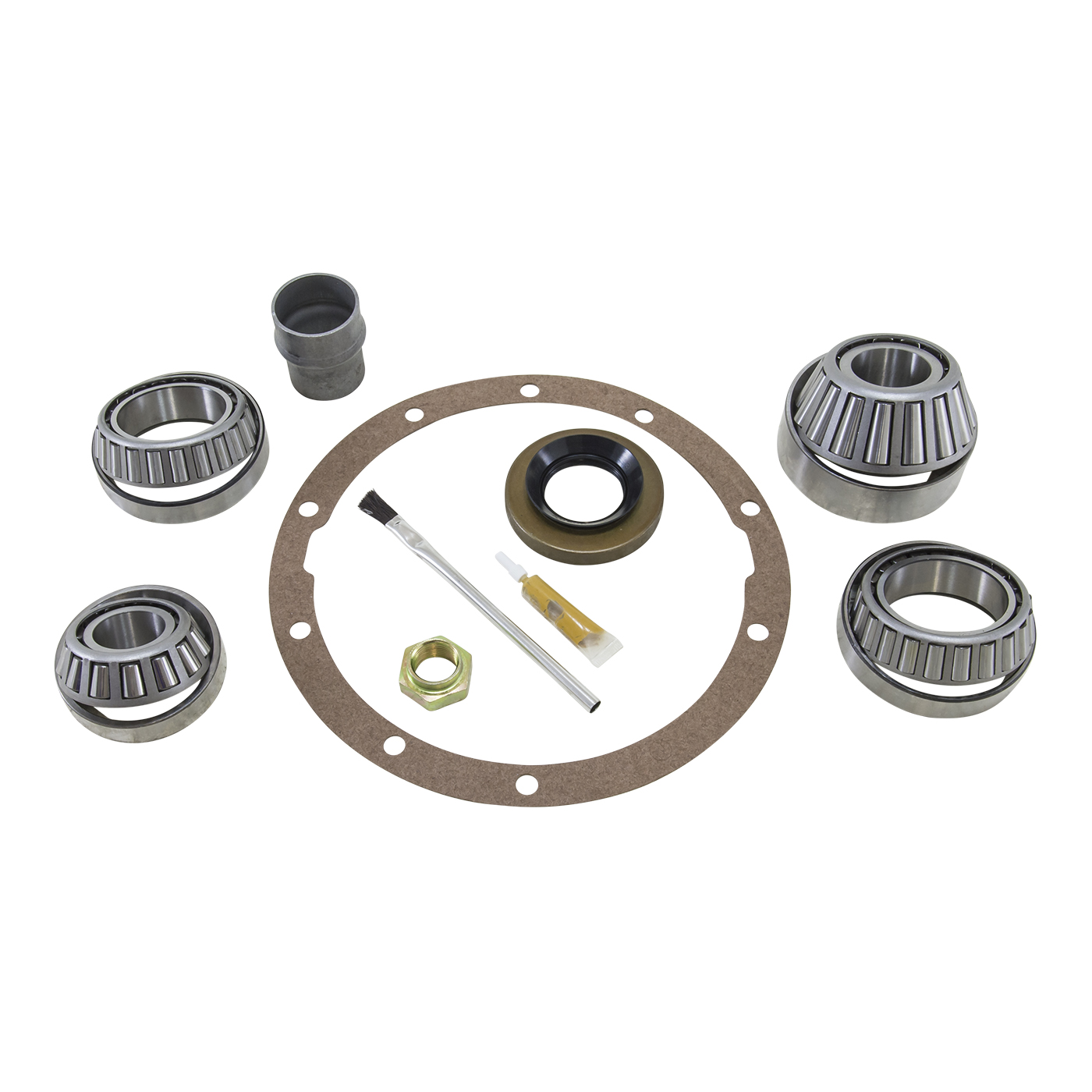 BK TV6 - Yukon Bearing install kit for Toyota Turbo 4 and V6 differential w/ 27 spline pinion