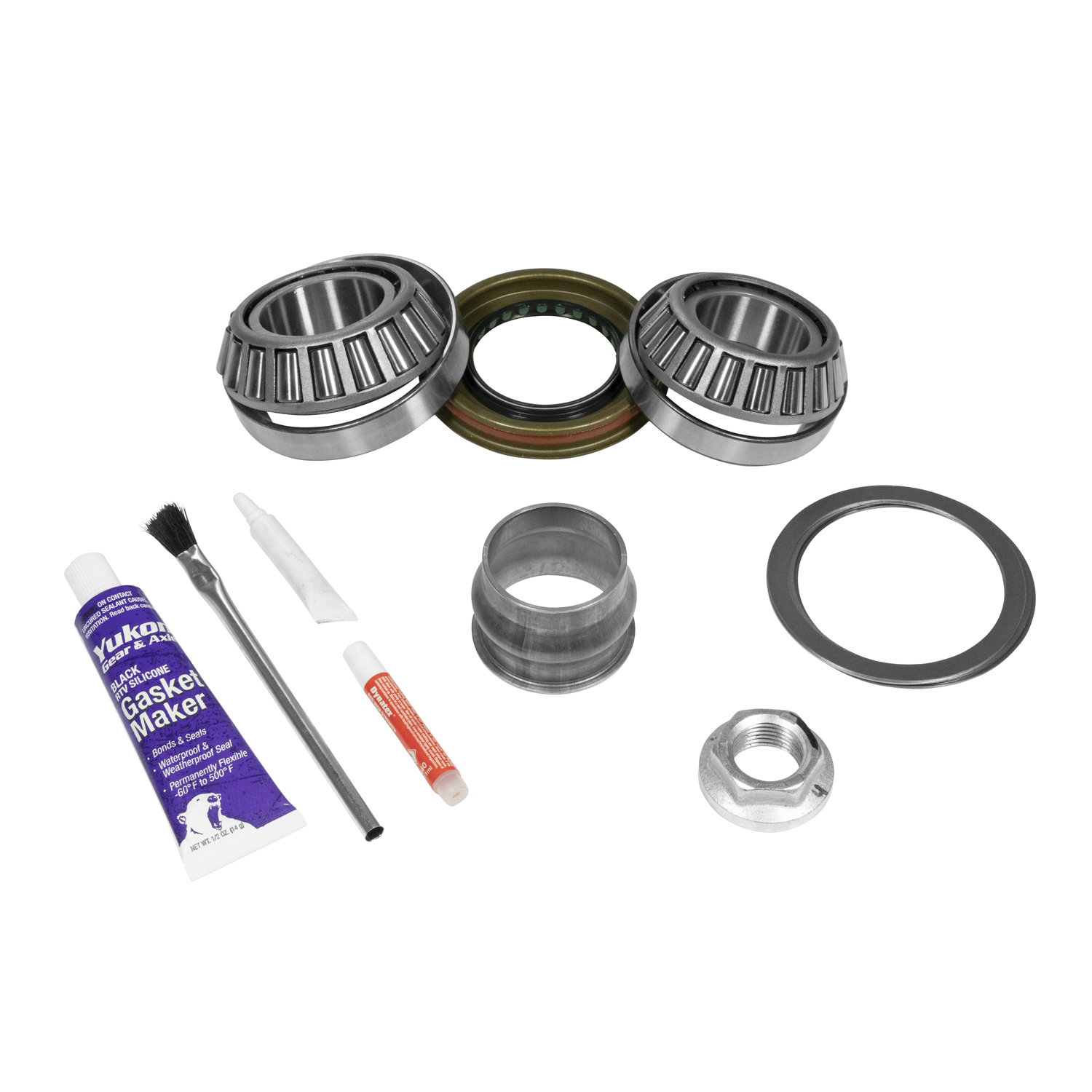 PK D44JL-FRONT - Yukon Front Pinion Installation Kit for Jeep Wrangler JL Dana 44, without Axle Seals