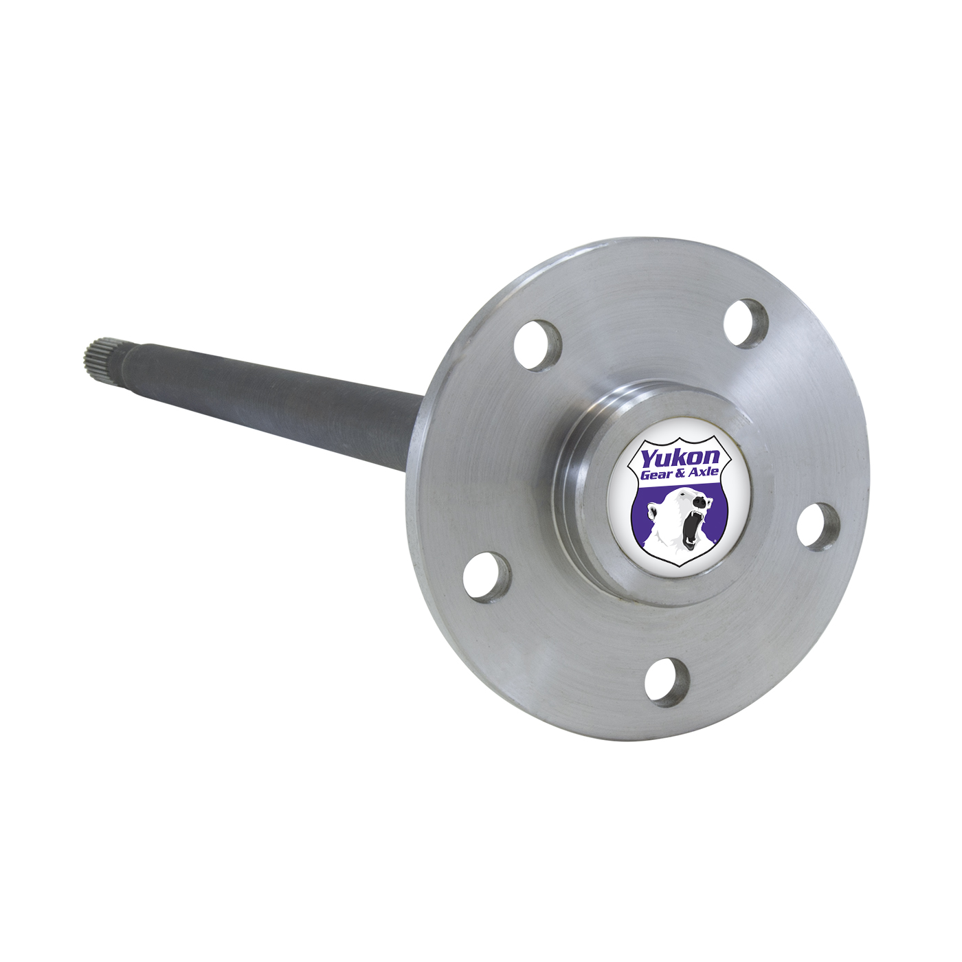YA WM35C-27-L-HD - Yukon 4340 Chrome Moly alloy left hand rear axle for Model 35 heavy duty (drum brakes)