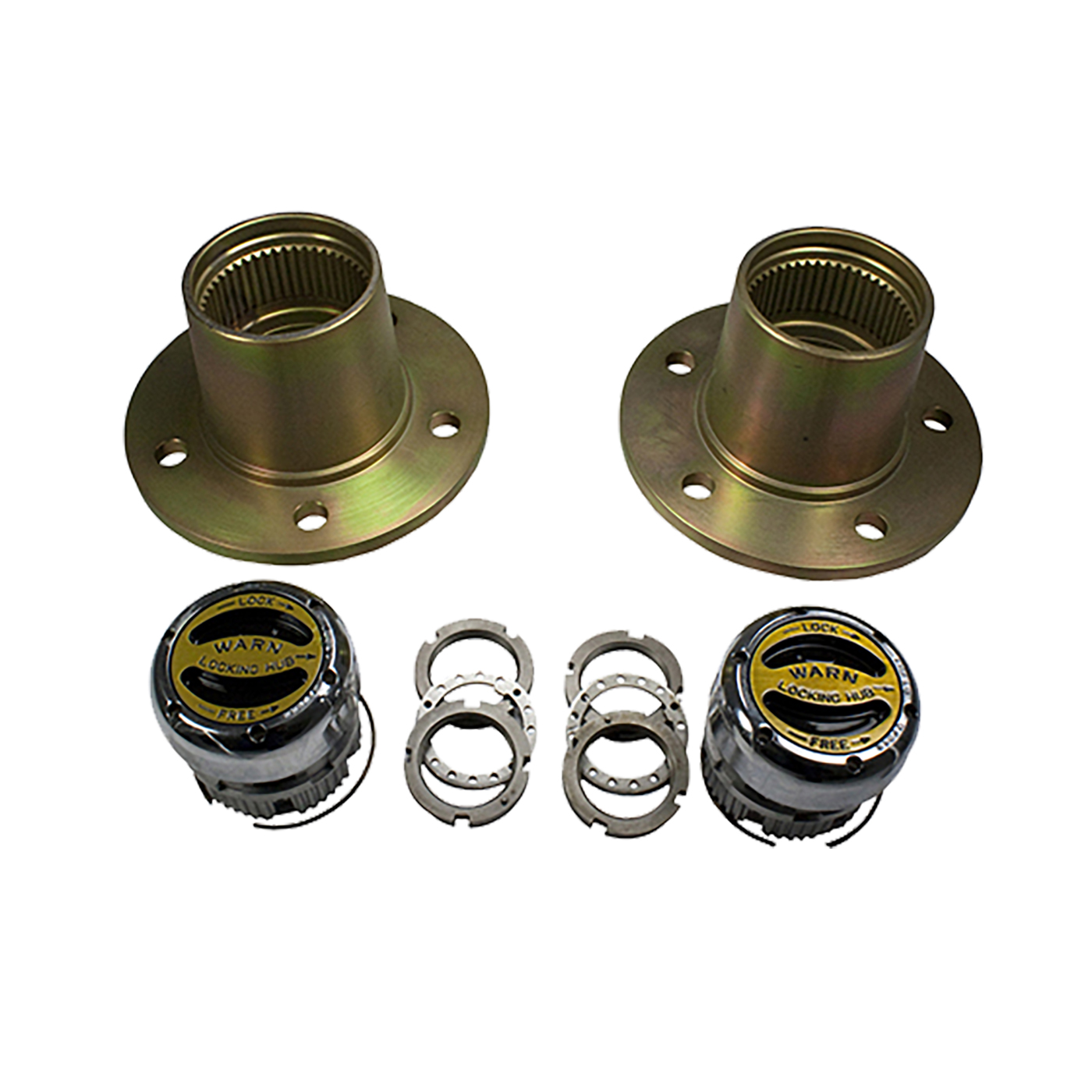 YA W61650 - Front Hub conversion kit, CJ & Scout, 5 X 5.5