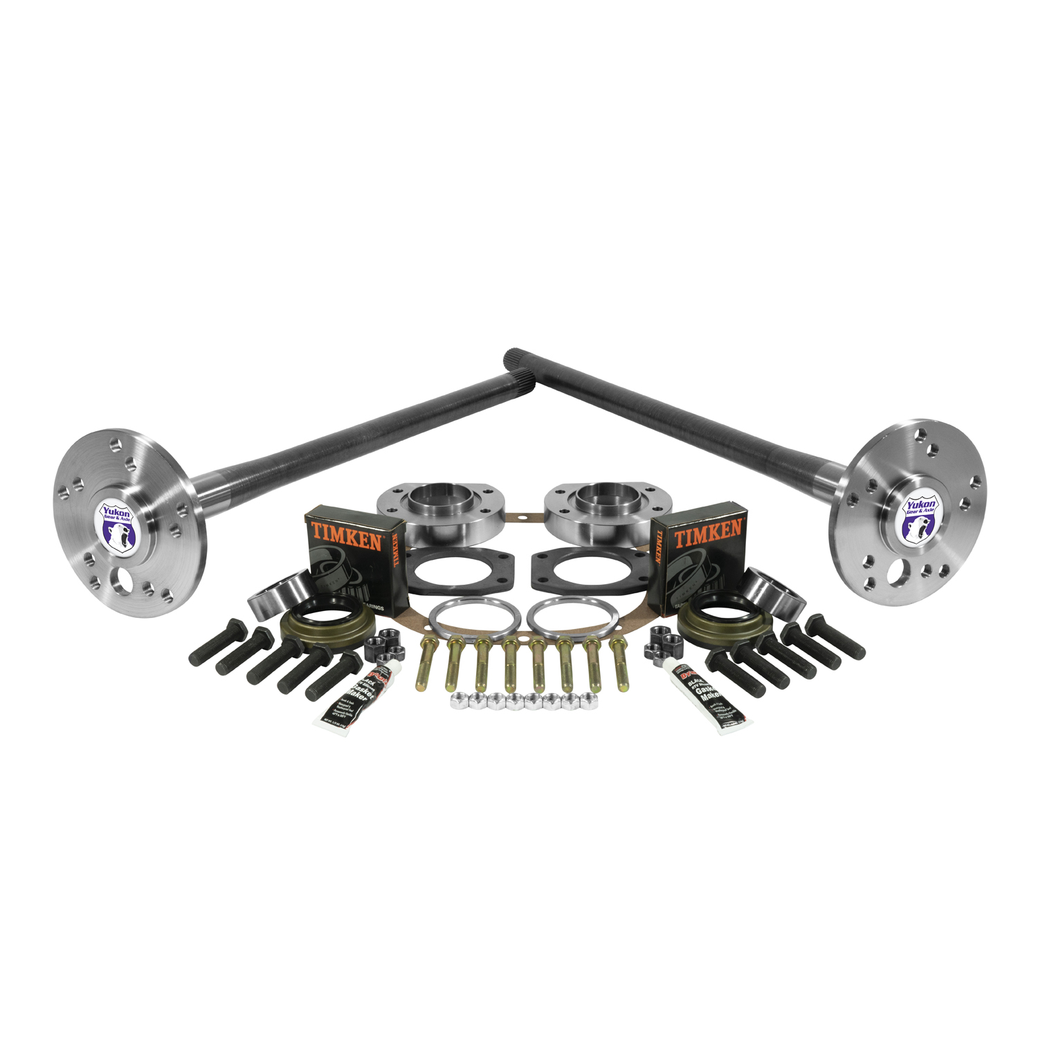 YA WF88-31-KIT - Yukon Ultimate 88 axle kit 95-02 Explorer, 4340 Chrome-Moly (Double drilled axles).