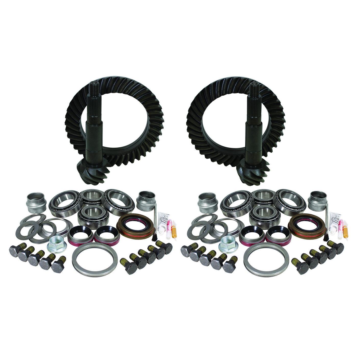 YGK009 - Yukon Gear & Install Kit package for Jeep TJ Rubicon, 4.56 ratio.