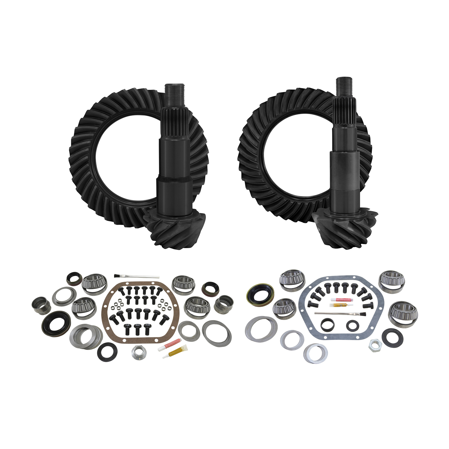 YGK012 - Yukon Gear & Install Kit package for Jeep JK non-Rubicon, 4.56 ratio