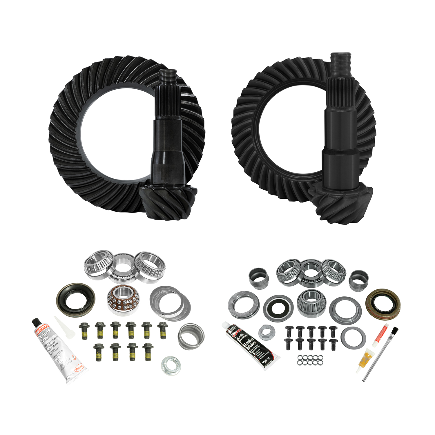 YGK075 - Yukon Complete Gear and Kit Pakage for JL Jeep Non-Rubicon, D35 Rear & D30 Front, 5:13 Gear Ratio