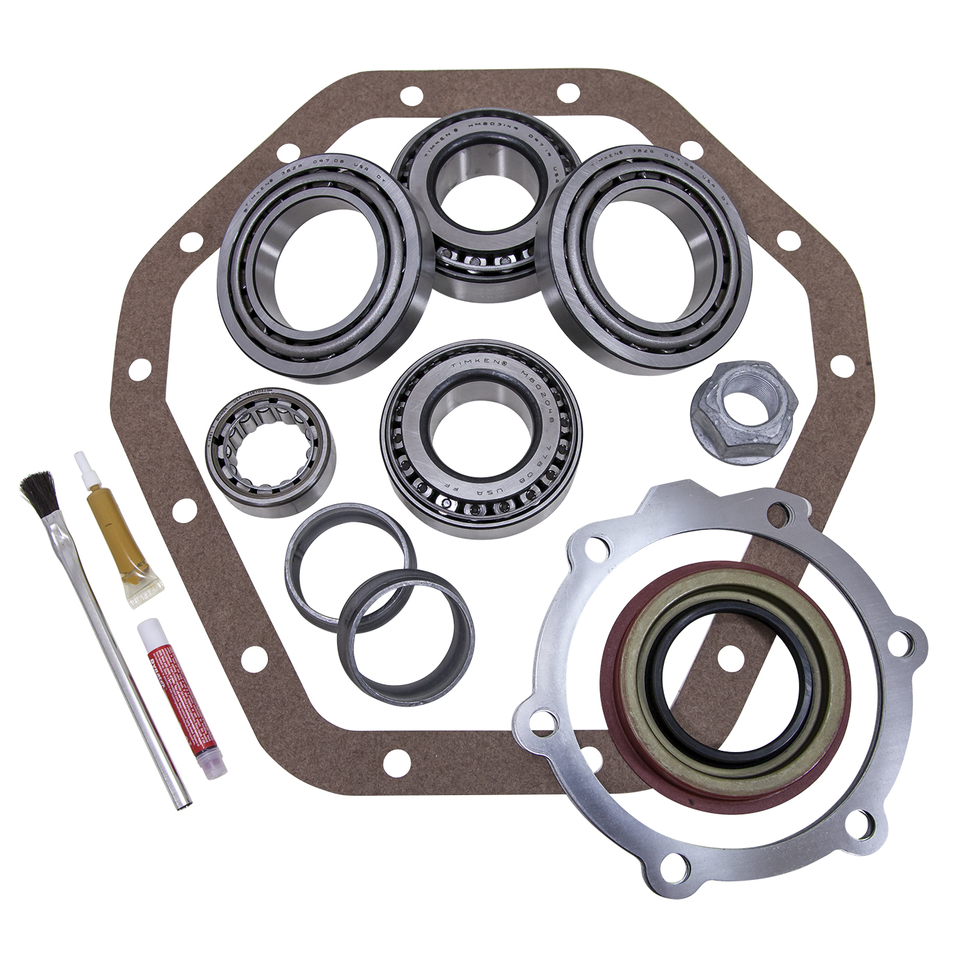 YK GM14T-A - Yukon Master Overhaul kit for GM '88 and older 14T differential