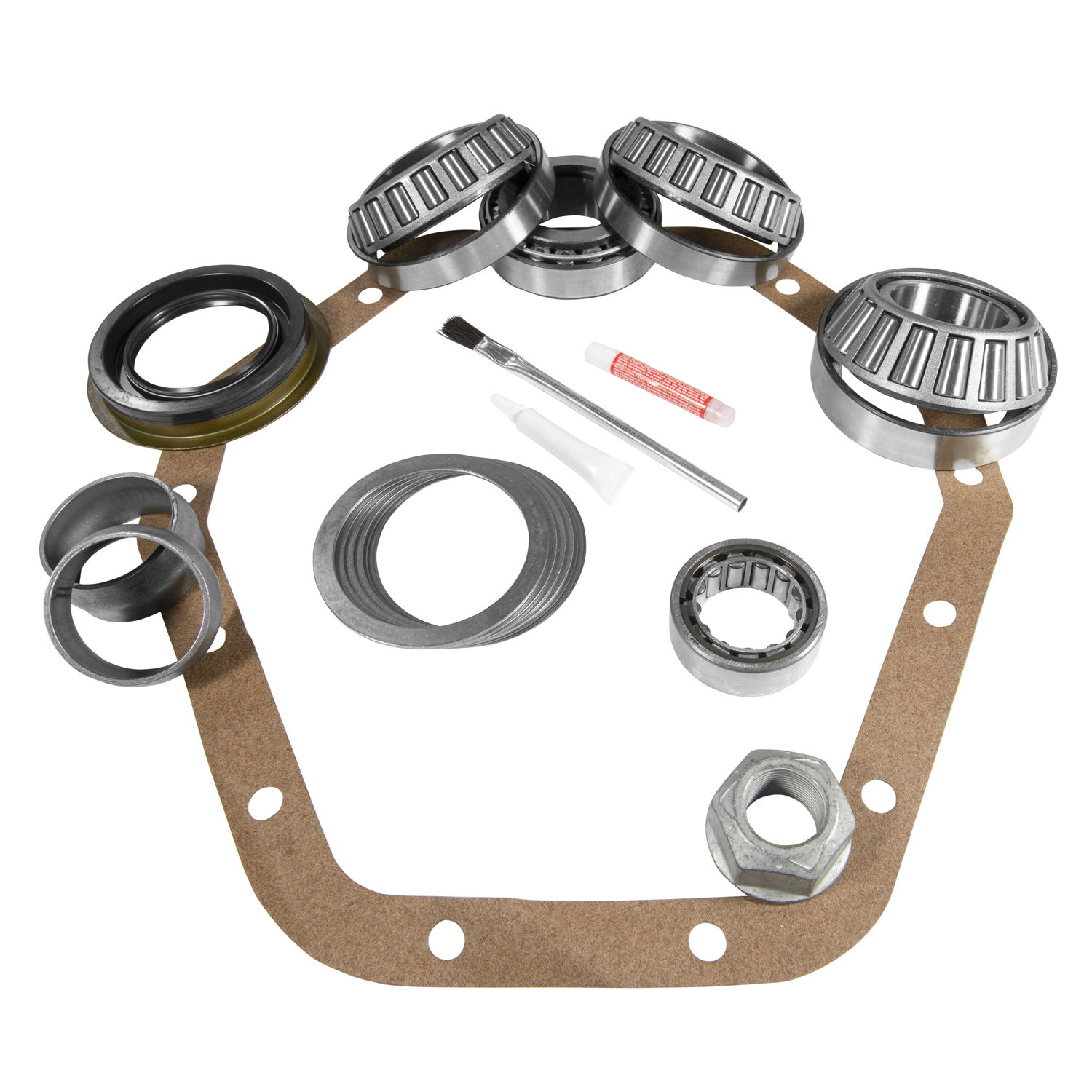 YK GM14T-C - Yukon Master Overhaul kit for GM '98 and newer 14T differential