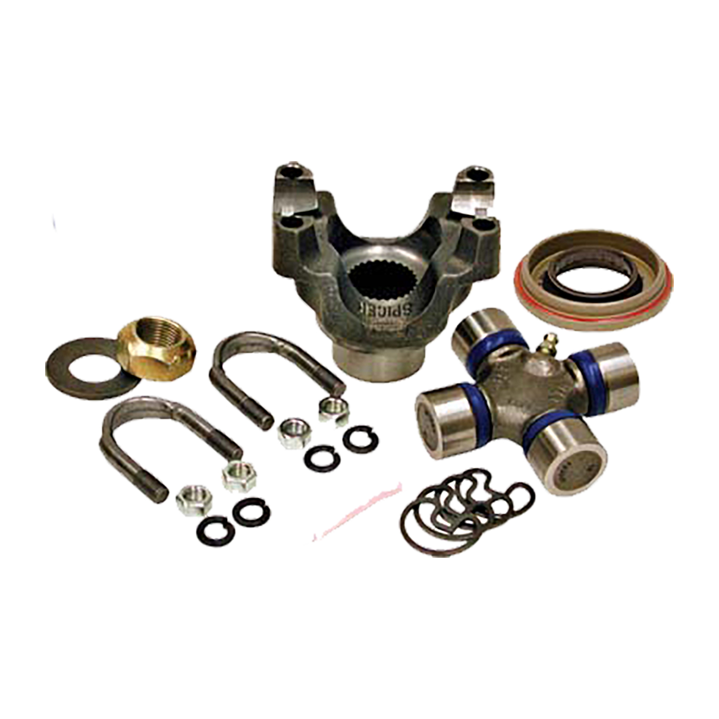 YP TRKD44-1310S - Yukon replacement trail repair kit for Dana 30 and 44 with 1310 size U/Joint and straps