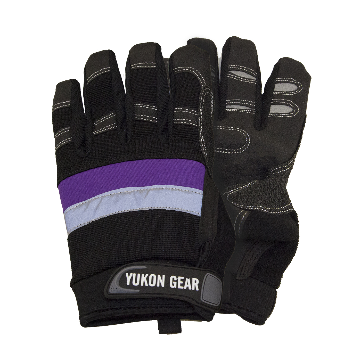 YRGGLOVES-1 - Yukon Recovery Gloves - Premium Cowhide Leather