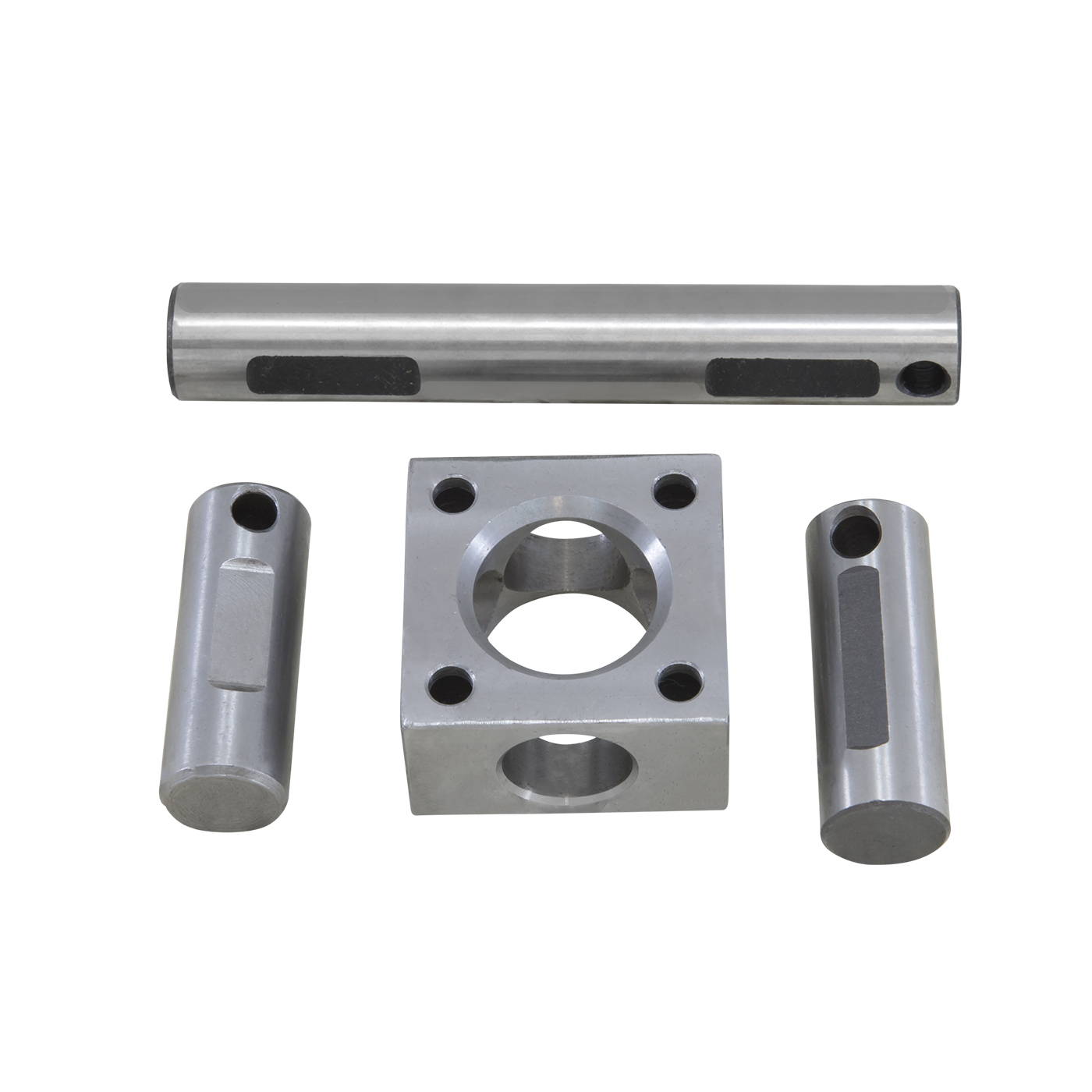 YSPXP-028 - Standard open or TracLoc cross pin shafts and block in four pinion design for 9