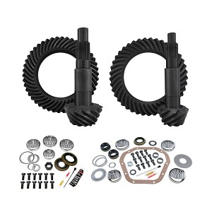 YGK152 - Yukon Complete Gear and Kit Pakage for F350 Dana 80 Rear & Dana 60 Reverse Thick Front, with 5:38 Gear Ratio